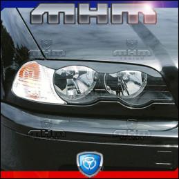 PAUPIERES DE PHARE BMW E46 COUPE ET CABRIO 99-03