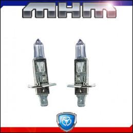 Ampoules Bleutées H1 55W Eclairage blanc