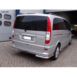 PROTECTION ARRIERE INOX MERCEDES ML W163 97-05
