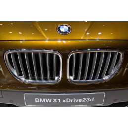 CALANDRE CHROME/ GRISE BMW X1 2009+
