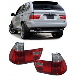 FEUX LED ROUGE BLANC BMW X5 E53 99-03