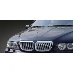 CALANDRE CHROME BMW X5 E53 03-07