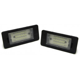 ECLAIRAGE PLAQUE LED AUDI A4 A5 Q5 TT