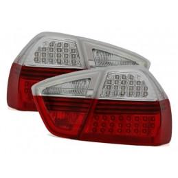 FEUX LED ROUGE BLANC BMW E90 2005-2008