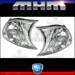 CLIGNOTANTS CHROME BMW E46 COUPE CABRIO 01-04 A VISSER
