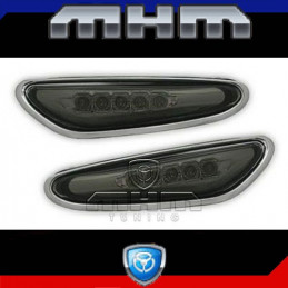 REPETITEURS LATERAUX LED NOIR BMW E46 BERLINE TOURING 01-05