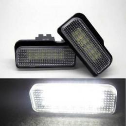 ECLAIRAGE PLAQUE LED MERCEDES W203 W211 SLK R171