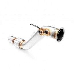 TUBE AFRIQUE DOWNPIPE INOX BMW SERIE 1 3 5 X1
