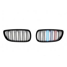 CALANDRE NOIRE BRILLANTE DOUBLE BARRE BMW E92 E93