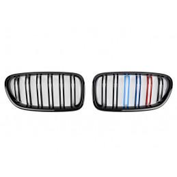 GRILLE CALANDRE NOIRE BRILLANTE BMW X5 E70 + X6 E71