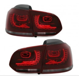 FEUX LED ROUGE BLANC VW GOLF 6 2008