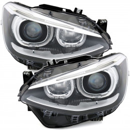 FEUX LED ROUGE NOIR BMW SERIE 1 F20 11+