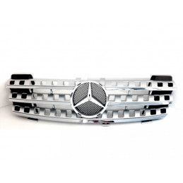 CALANDRE GRISE + CHROME MERCEDES ML W164 2005-07/2008